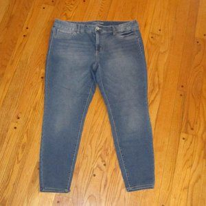 MAURICES JEGGING JEANS PLUS SIZE 20W R ANKLE FIT